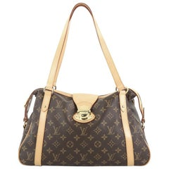 Louis Vuitton Stresa Handbag Monogram Canvas PM