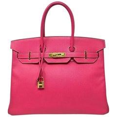 Hermès 35 cm Birkin in Rose Tyrien Epsom, 2013