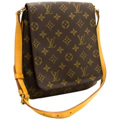 Louis Vuitton Musette Salsa Short Strap Monogram Shoulder Bag