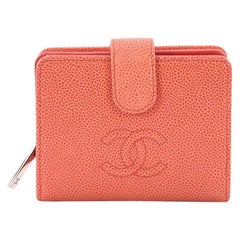 Chanel Timeless CC French Wallet Caviar Compact