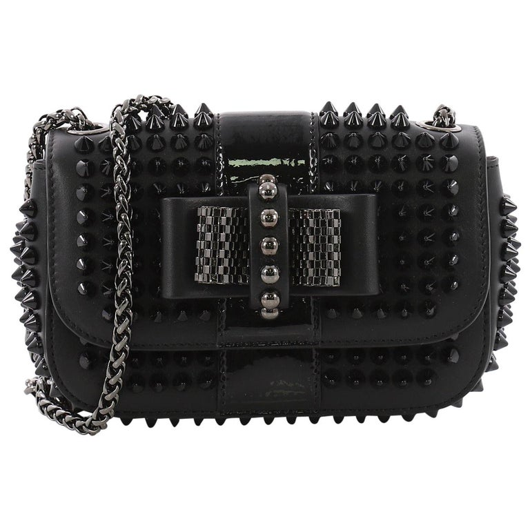 f18a37a1ccf Christian Louboutin Sweet Charity Crossbody Bag Spiked Leather Mini