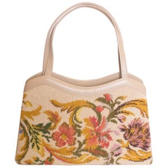 Vintage Needlepoint Bag