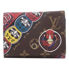Louis Vuitton Victorine Compact Wallet NM Limited Edition Kabuki Monogram Canvas