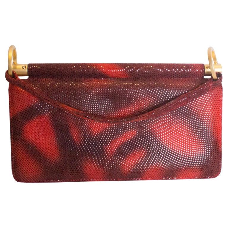 0fcea8e7bc52 Vintage Charles Jourdan Red Handbag For Sale at 1stdibs