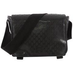 Gucci Diaper Flap Bag GG Imprime