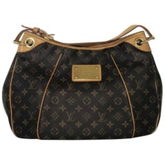 Louis Vuitton Monogram Galliera PM Hobo Shoulder Handbag