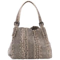 Bottega Veneta Belted Shopper Tote Karung with Intrecciato Detail Medium