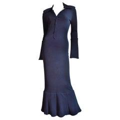 Jean Paul Gaultier Color Block Maxi Dress