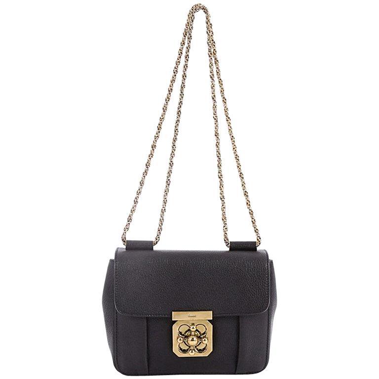 1747a655cc Chloe Elsie Chain Shoulder Bag Leather Small