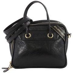 Balenciaga Blanket Square Bag Leather Small