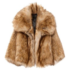 Nili Lotan Garbo Faux Fur Jacket