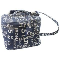 """Chanel Canvas """"31 rue Cambon"""" Vanity Case"""