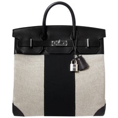 Hermès Birkin HAC 40 Flag Toile Evercalf PHW