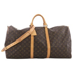 Louis Vuitton Keepall Bandouliere Bag Monogram Canvas 60