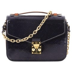 Louis Vuitton Pochette Metis Shiny Epi Leather with Reverse Monogram Canvas Mini