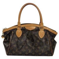 Louis Vuitton Monogram Tivoli PM Satchel Top Handle Handbag