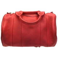 Alexander Wang Coral Leather Rockie Duffle