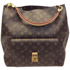 Louis Vuitton Brown Monogram Metis Shoulder Bag