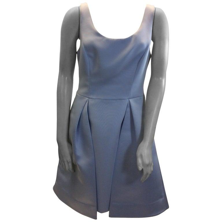 bb8f9418359 Halston Heritage Light Blue Dress For Sale at 1stdibs