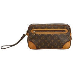 Louis Vuitton Brown Monogram Marly Dragonne GM