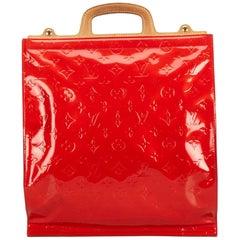 Louis Vuitton Red Vernis Stanton