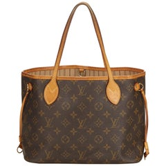Louis Vuitton Brown Monogram Neverfull PM