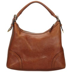 Gucci Brown Guccissima Leather Signoria Shoulder Bag