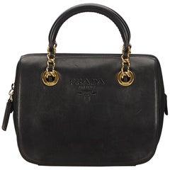 Prada Black Nappa Leather Handbag