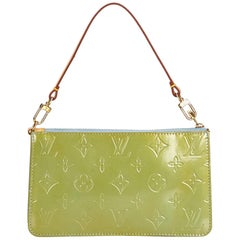 Louis Vuitton Green Vernis Lexington Pochette