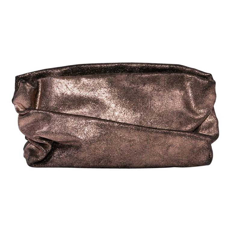 MARTIN MARGIELA Pouch in Brown Mordoré Leather