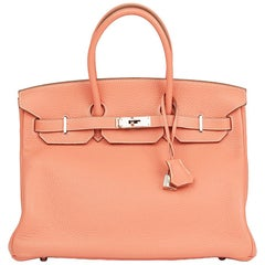 2013 Hermes Crevette Togo Leather Birkin 35cm