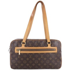 Louis Vuitton Cite Handbag Monogram Canvas GM