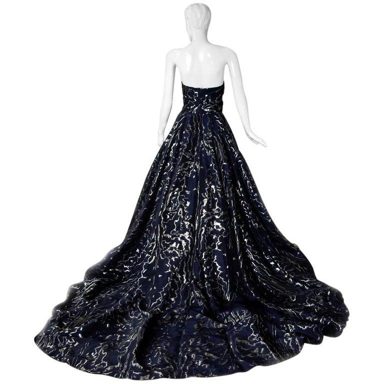 Oscar de la Renta Hi Fashion WOW Ballgown + Crinoline!     For Sale
