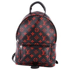 Louis Vuitton Palm Springs Backpack Limited Edition Monogram Infrarouge PM