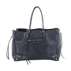 Balenciaga B4 Zip Around Tote Leather