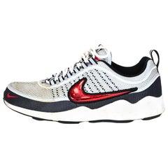 Nike Grey Men's Air Zoom Spiridon 16 Sneakers Sz 9