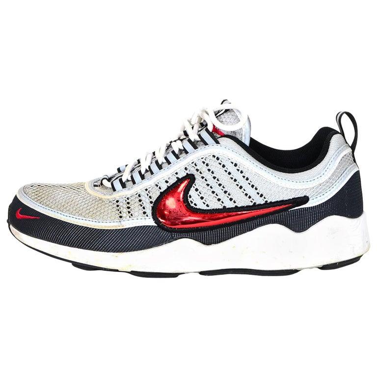 b6e86700f2984 Nike Grey Men s Air Zoom Spiridon 16 Sneakers Sz 9 For Sale at 1stdibs