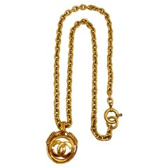 Chanel Pendant Necklace Spring 1994 Collection
