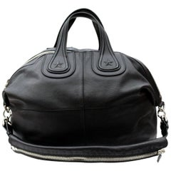 Givenchy Black Leather Nightngale Bag
