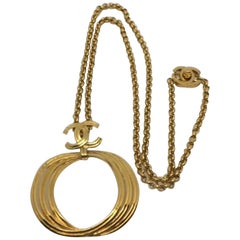 Chanel Pendant Necklace Spring 1996 Collection