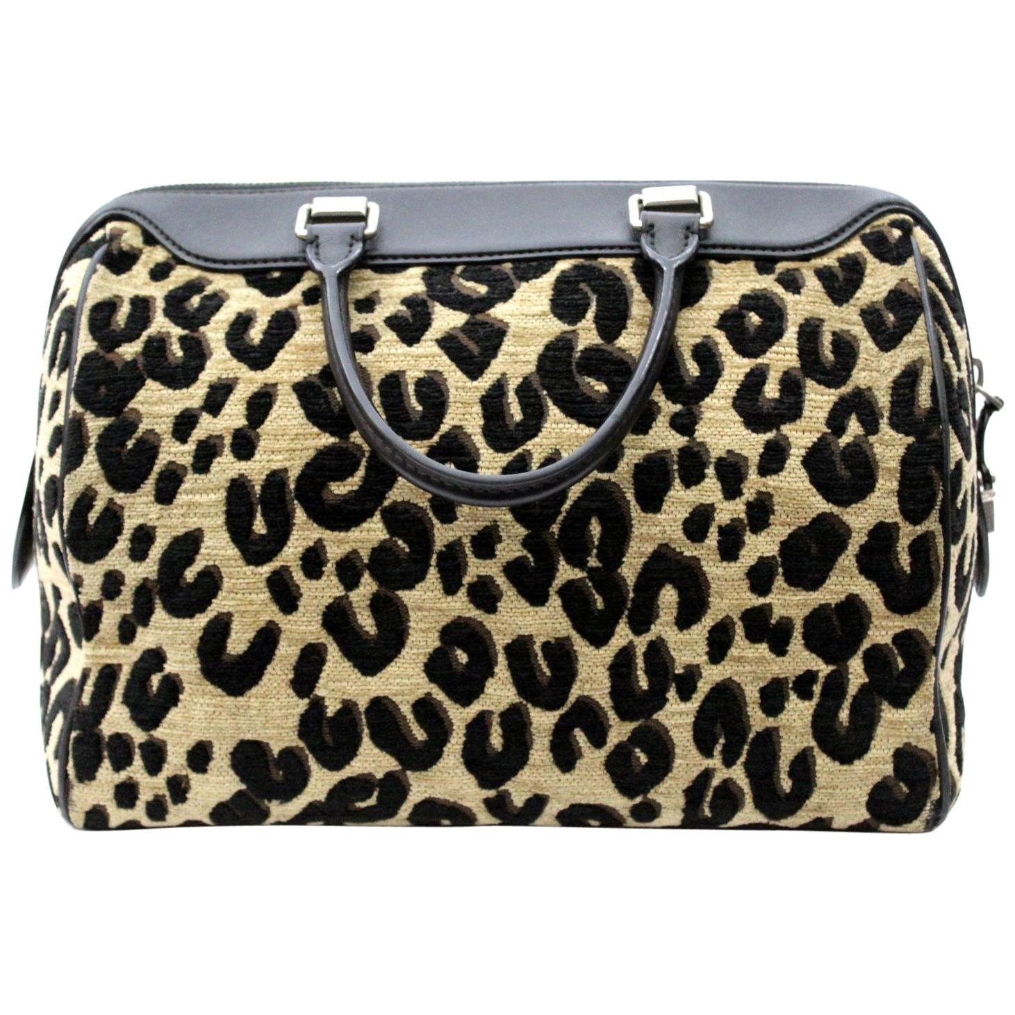 2012 Louis Vuitton Leopard Speedy Limited Edition Bag