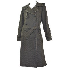 Chanel Trench Coat with Chain Trim 2004 A
