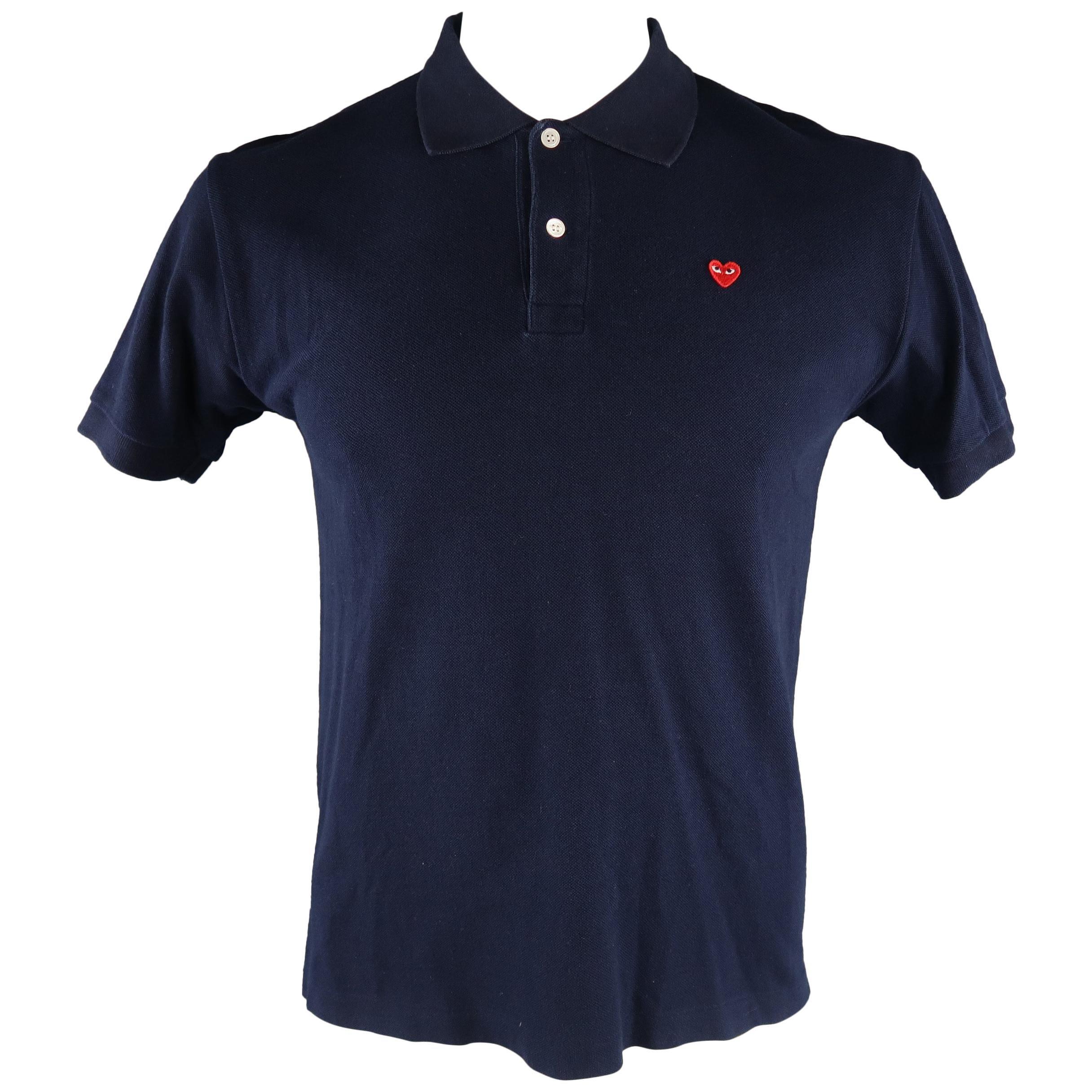 c9124e05bbb COMME des GARCONS HOMME PLUS Size M Black Cotton Stripe Seam Crew-Neck T-shirt  For Sale at 1stdibs