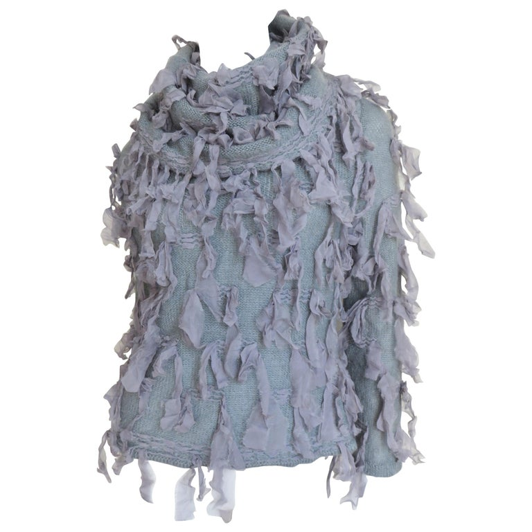 Christian Dior Fringe Sweater For Sale