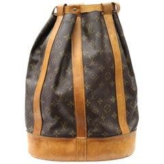 1990s Louis Vuitton Vintage Randonnee Backpack