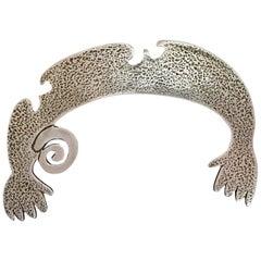 Helping Hands, Naja, Melanie Yazzie designs, silver, Navajo