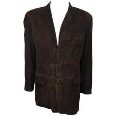 Men's Paul Smith Suede Leather Blazer