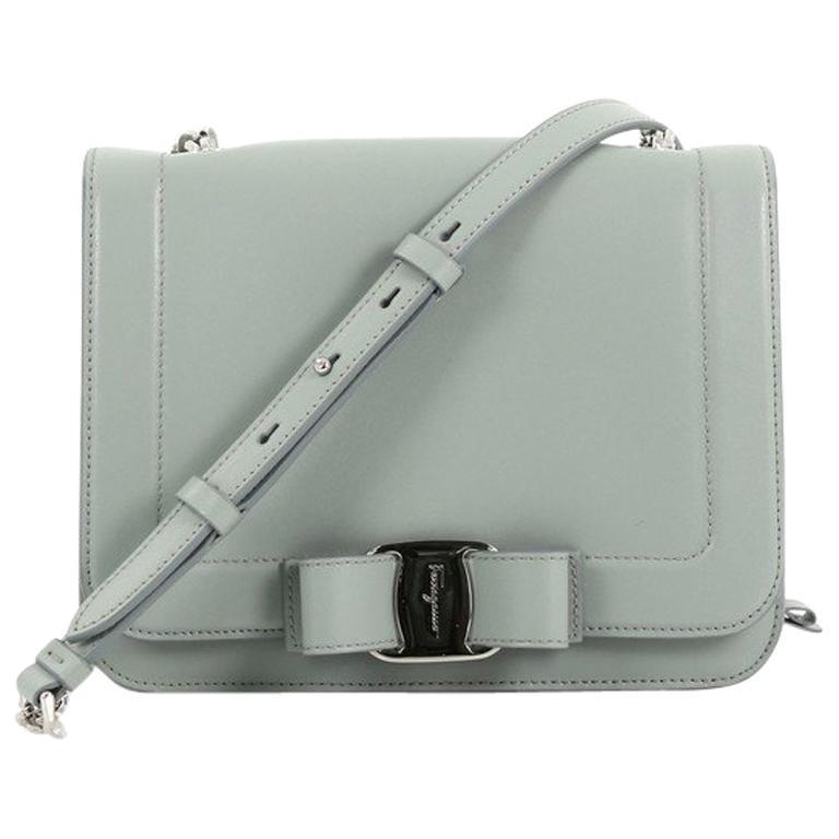 9d9727dfa96e Salvatore Ferragamo Vara Rainbow Crossbody Bag Leather Small For Sale at  1stdibs