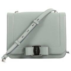 Salvatore Ferragamo Ginny Crossbody Bag Saffiano Leather Medium at ... b40982d76887b