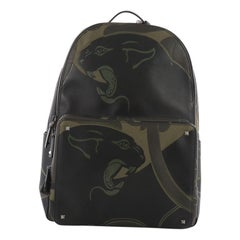 Valentino Backpack Canvas with Applique Large